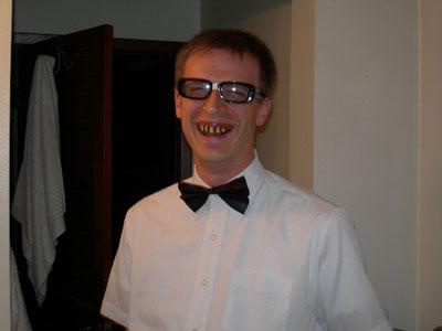 Ron Tucker w/ teeth