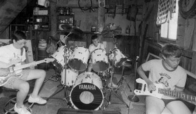 Ron's garage band