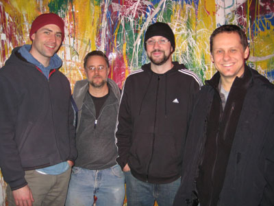Trepanning Trio - Andy Ludick, BBob Drake, David Mansbach and Brent Gummow