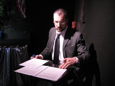 David Mansbach @ the Alleman-Traenkner Debates of '08