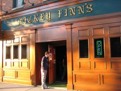 INS @ Mickey Finn's